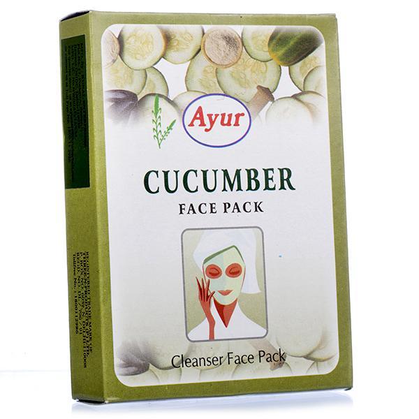 Ayur Cucumber Face Pack