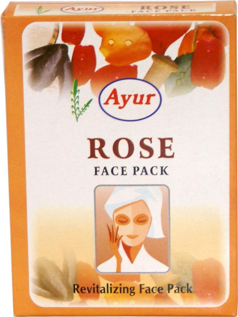 Ayur Rose Face Pack