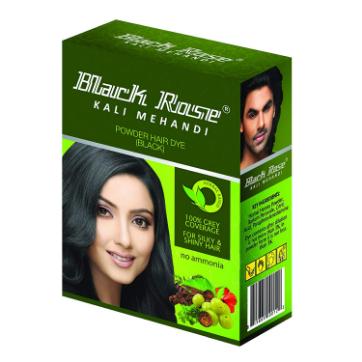 Black Rose Kali Mehndi Hair Dye Powder