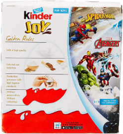 Kinder Joy for Boys ( 24 Pcs)
