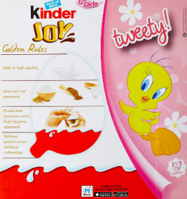 Kinder Joy for Girls ( 24 Pcs)