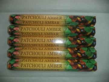 Hem Patchouli Amber (Incence Stick)