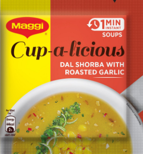 Maggi Instant Soup Roasted Garlic (Daal Shorba)