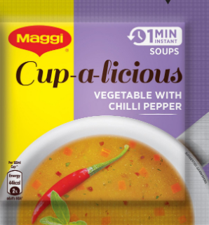 Maggi Instant Soup Veg Chilli Pepper