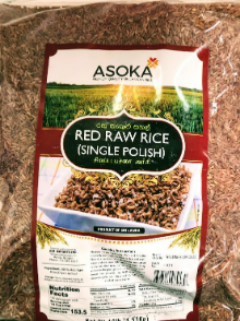 Asoka Red Raw Rice Dark