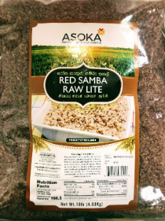 Asoka Red Samba Raw Rice Lite