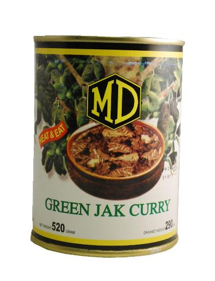 MD Green Jack Polos Curry in Can