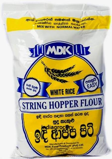 MDK String Hopper Flour White