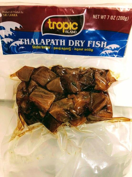 Tropic Island Dry Thalapati Fish