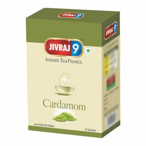 Jivraj 9 Instant Tea Premix (10 Sachet Box) Cardamom