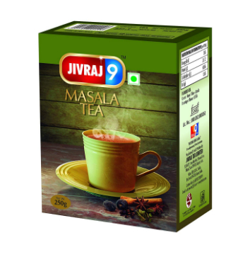 Jivraj 9 Masala Tea Box
