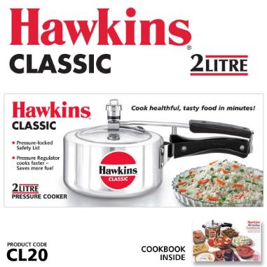 Hawkins Pressure Cooker 2 Ltrs CL20..