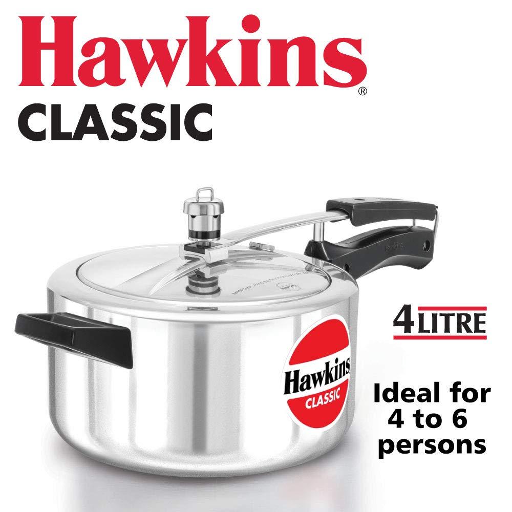 Hawkins pressure cooker 4 Liters..