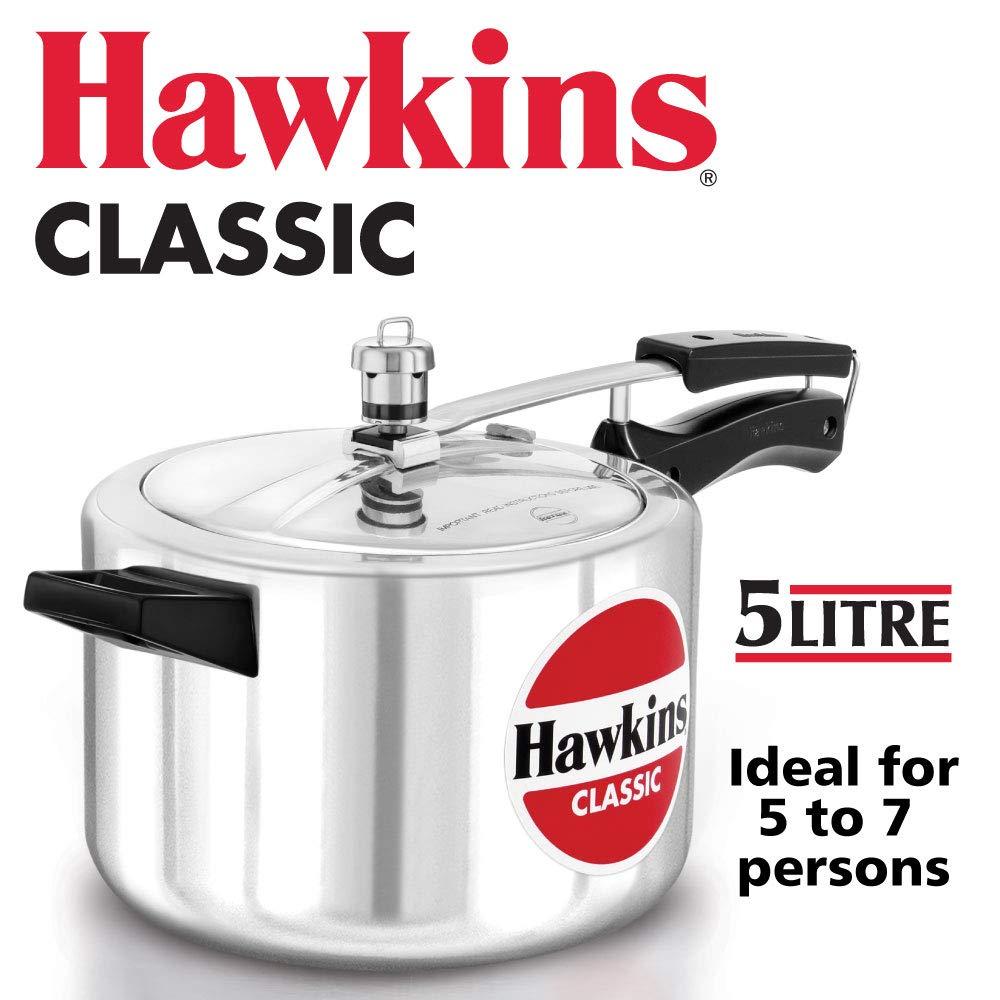 Hawkins pressure cooker 5 liter capacity (B20)..