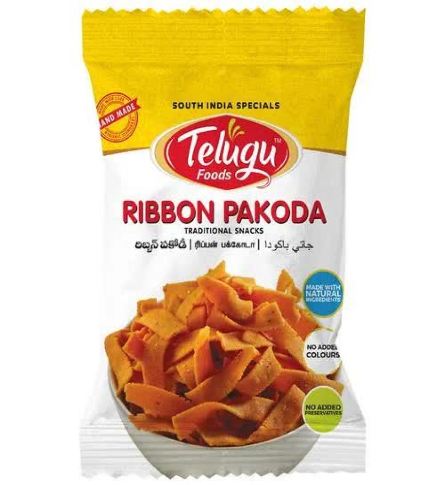 Telugu Snacks (T7) Ribbon Pakoda/Gatti 170 Gms