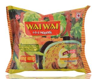 Wai Wai Noodles Chicken Flavor