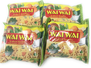 Wai Wai Noodles Vegetable Flavor