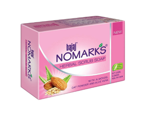 Bajaj No Marks Soap ( Herbal Scrub )