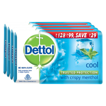 Dettol Soap Cool (Blue)