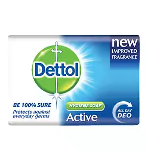 Dettol Soap Active Dark Blue