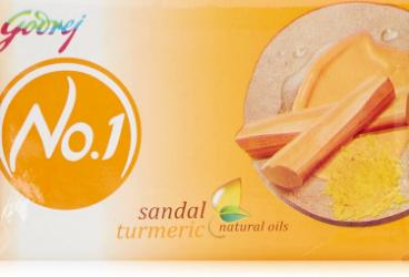 Godrej No.1 Sandal & Turmeric Soap