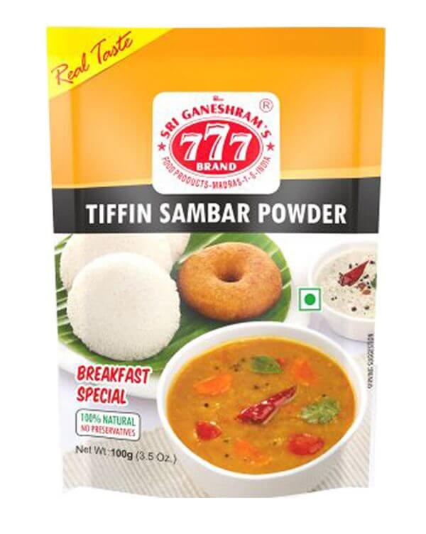 777 Tiffin Sambhar Powder