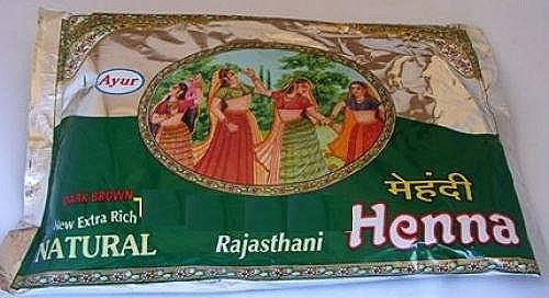 Ayur Rajasthani Henna
