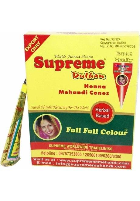Supreme Fresh Mehndi Cone