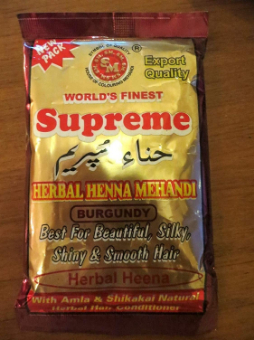 Supreme Henna Powder Burgandy