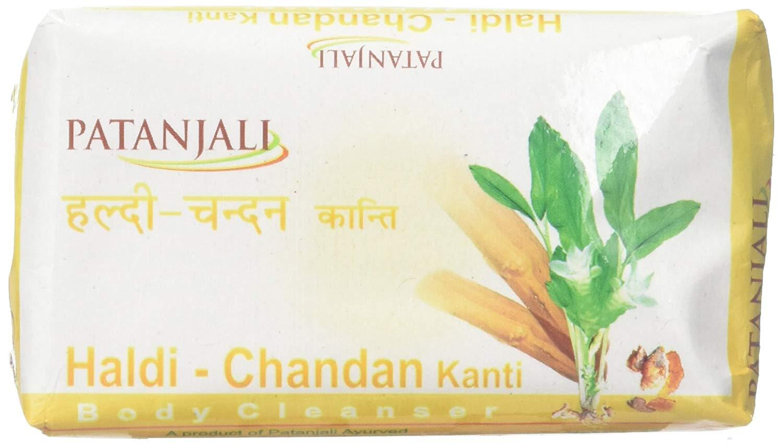 Patanjali Soap Haldi Chandan