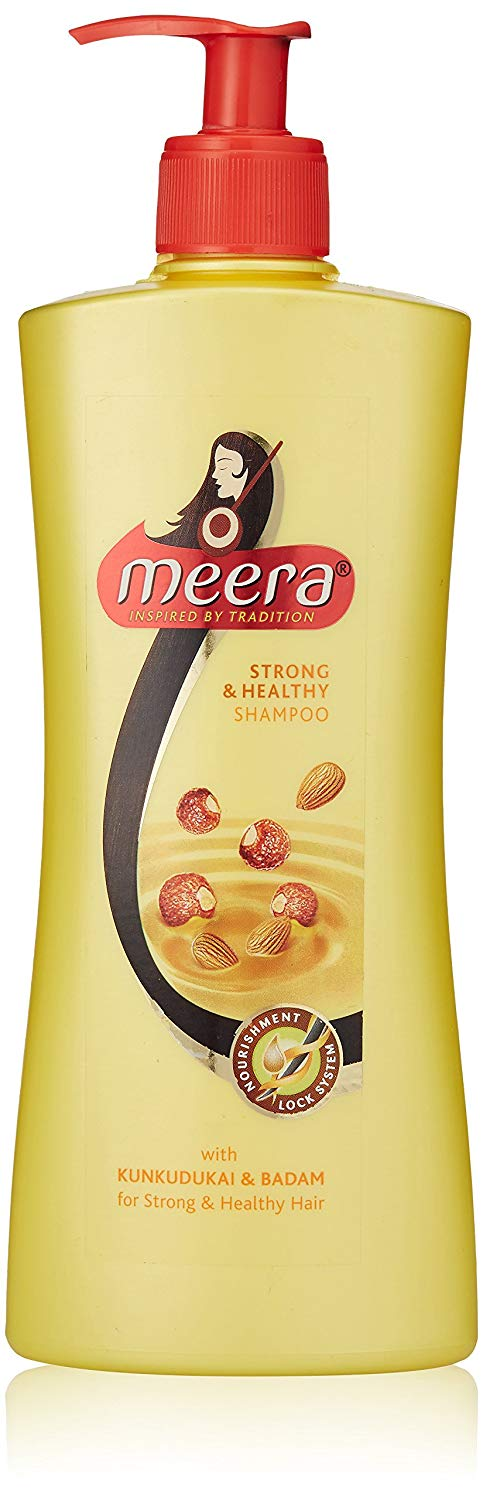 Meera Shampoo Strong & Healthy (Red)