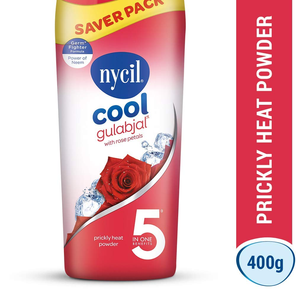 Nycil Cool Gulabjal Talc Powder