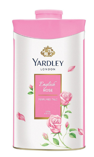 Yardley Talcum Powder (English Rose)