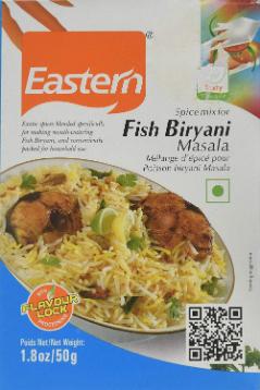 Eastern  Fish Biryani  Masala