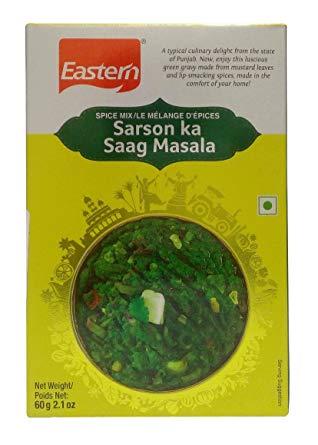 Eastern Sarso ka Saag Masala