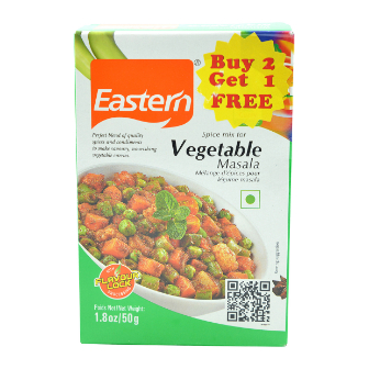 Eastern Vegtable  Masala