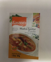Eastern Madras Sambar  Powder