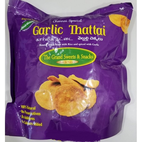 Grand Sweets Garlic Thattai