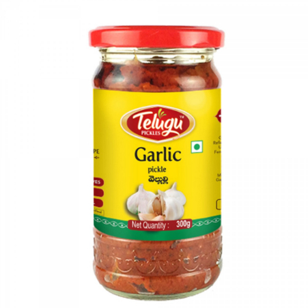 Telugu Garlic Pickle