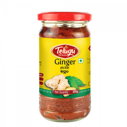 Telugu Pickle Ginger Pickle