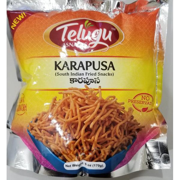Telugu Spices Brand Snacks Karapusa