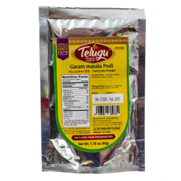 Telugu Pickle Garam Masala