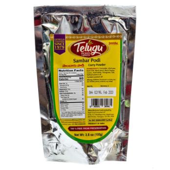 Telugu Pickle Sambar Powder