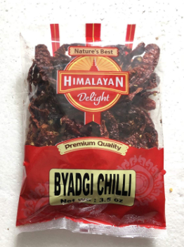 Himalayan Delight Byadgi Chilli Whole