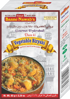 Banne Nawab Vegetable Biriyani Masala