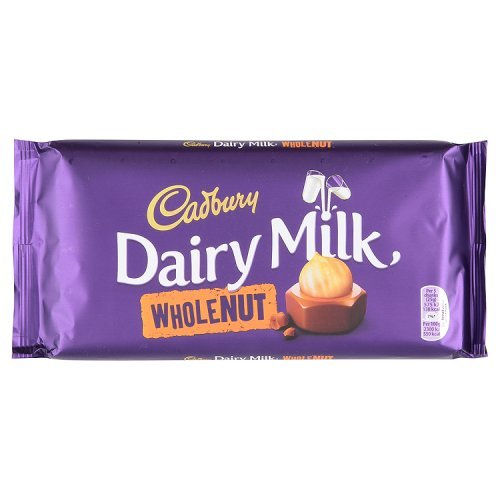 Cadbury Dairy Milk Whole Nut Medium