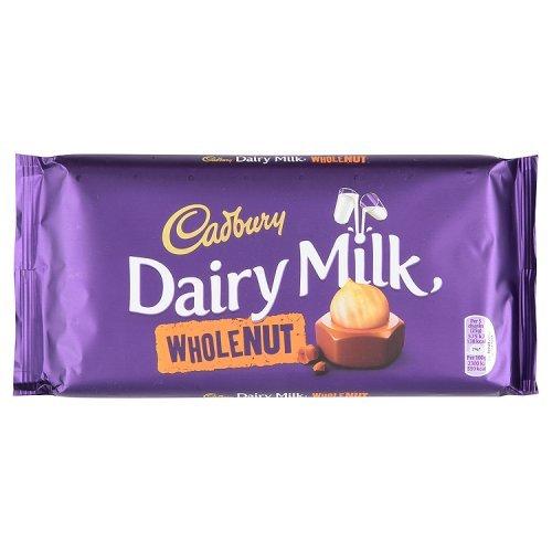 Cadbury Whole Nut Bar