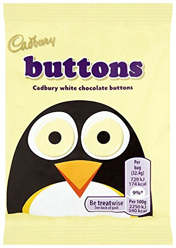 Cadbury Buttons White