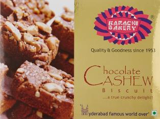 Karachi Choco Cashew Biscuit