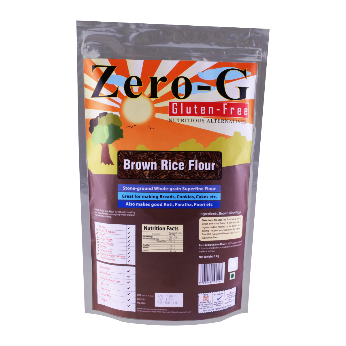 Zero-G Brown Rice Flour